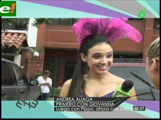 Andrea Aliaga deja a Pippo y se va con salón Lourdes