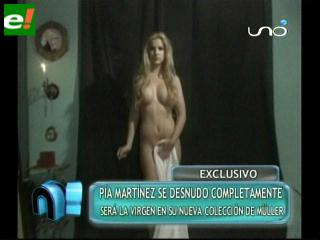 Pía Martínez se desnuda para Alfredo Müller