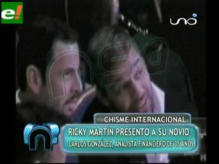 Ricky Martin presenta a su novio