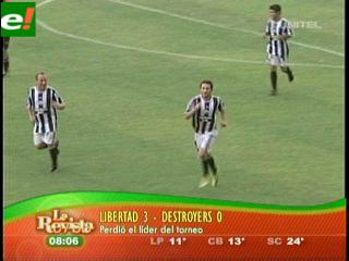 Libertad humilló a Destroyers 3-0