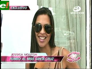 Jessica Mouton candidata al Miss Santa Cruz 2011