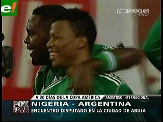 Nigeria 4 Argentina 1: Una noche negra