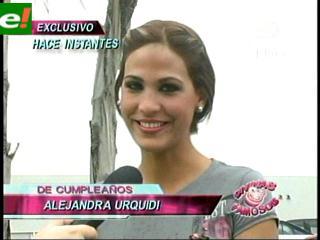 Alejandra Urquidi cumplirá 23 años