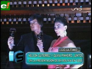 Olivia Pinheiro y Nelson Gutiérrez imagen de BX