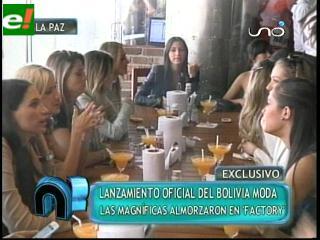 Bolivia Moda 2011 en La Paz