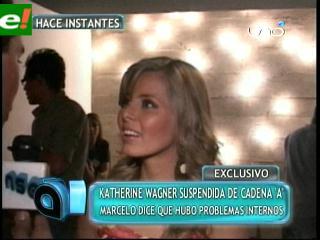 Katherine Wagner suspendida de Cadena «A»