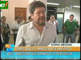 Samuel Doria Medina: «Este proceso es político»