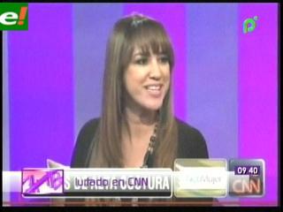 Rosita Hurtado entrevistada por CNN