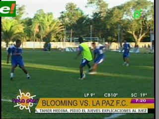 Oriente de local con Aurora, Blooming juega en La Paz