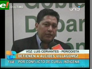 Alcides Villagómez presidente de la Asamblea Legislativa de Santa Cruz fue detenido