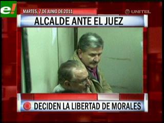 Alcalde Jorge Morales ante el Juez