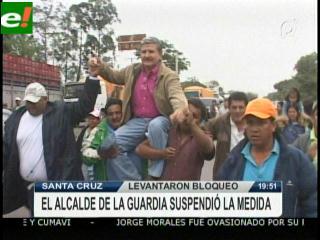 Jorge Morales volvió libre a La Guardia