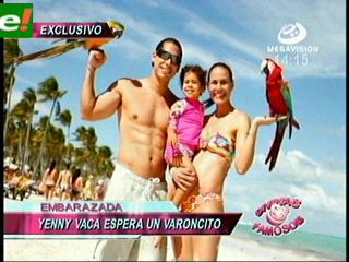 Jenny Vaca Paz espera un bebé varoncito