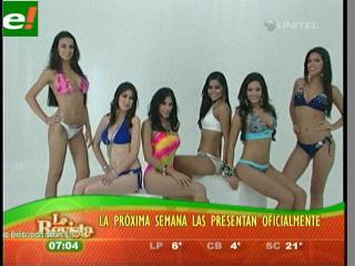 El Miss Bolivia 2011 va tomando cuerpo