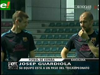 Barcelona a un paso del título español