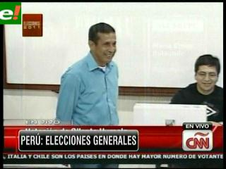 Boca de urna: Humala disputaría la segunda vuelta con Fujimori o Pedro Kuxzynski