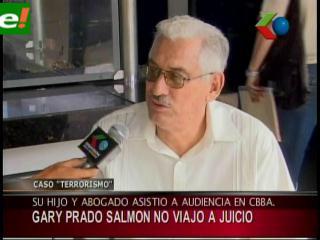 """Juan Carlos Santistevan y Gary Prado no asistieron al """"miniproceso"""" caso Rózsa"""