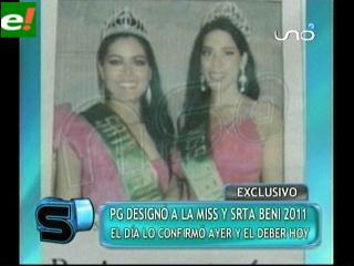 Polémica en puerta: Designaron Miss y Señorita Beni 2011