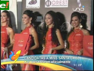 Comenzó oficialmente la disputa por la corona Miss Santa Cruz 2011