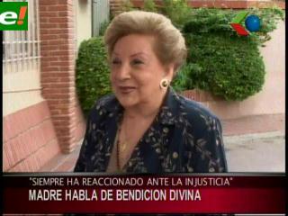 Madre de Gobernador Costas, agradece a Dios por la protección