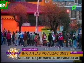 La tensión se eleva en Bolivia