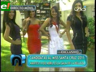 Miss Santa Cruz 2011 va tomando cuerpo