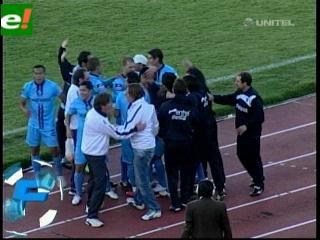 Bolívar ganó el clásico paceño a Strongest 1-0