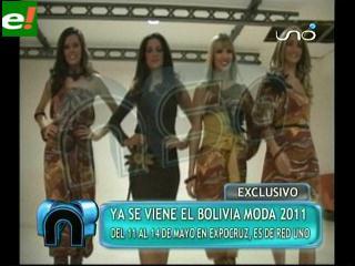 Magníficas en sesión de fotos con vistas al Bolivia Moda