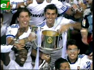 Festejos de Madrid con la Copa del Rey