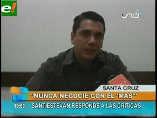Jorge Santistevan dice su verdad