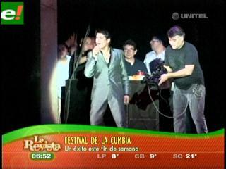 Américo comandó la noche del Festicumbia 2011