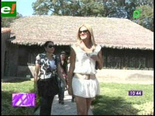 María Teresa Roca distinguida en Villamontes