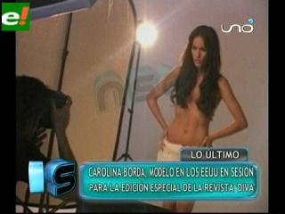 Carolina Borda modelo que triunfa en USA