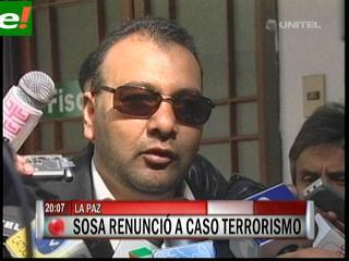 Fiscal Marcelo Soza renunció al caso terrorismo Rózsa
