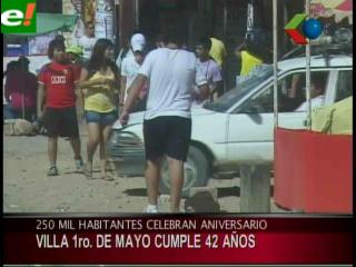 La Villa 1 de Mayo cumple 42 años