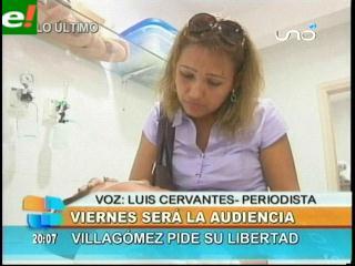 Nueva audiencia para Alcides Villagómez será el viernes