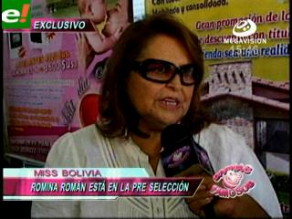 Promociones Gloria aclara que Romina Román está pre-seleccionada