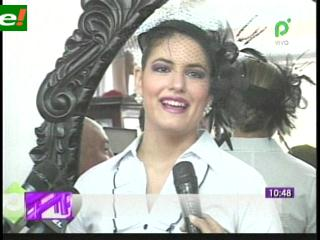 Nathaly Brown Reina de Santa Cruz 2011