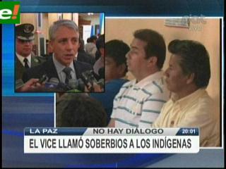 Indígenas esperarán a Evo hasta el lunes y advierten con enfrentarse a bloqueadores