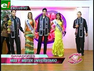 Ganadores del Miss y Mister Universitario 2011