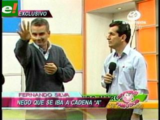Fernando Silva se despidió de Megavisión