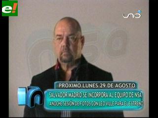Salvador Madrid se incorpora a NSA