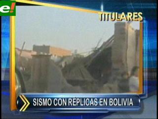 Tembló Bolivia