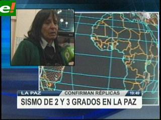Sismo en Perú se sintió también en La Paz y Pando