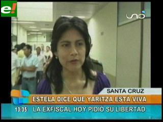 Estela Guerra: «Yaritza está viva»