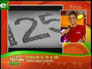 Paceña promociona en sus 125 años