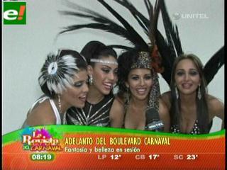Adelanto del Boulevard Carnaval 2011