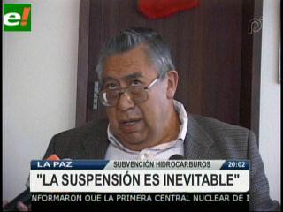 """Carlos Miranda: """"La suspensión de la subvención de hidrocarburos es inevitable"""""""