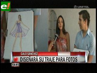 Andrea Aliaga en busca del vestido perfecto