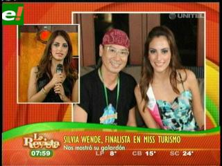Silvia Wende fue semifinalista en Miss Turismo